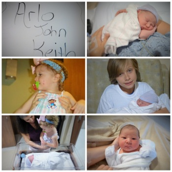 Arlo's Birth